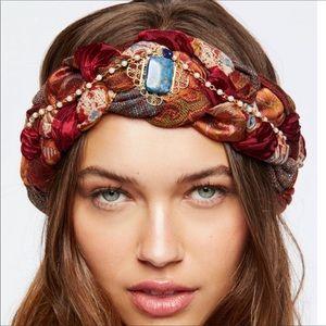 Free People x Curried Myrrh   Braided Turban